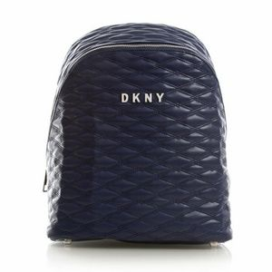 Dkny Quilted Extra Large Travel Backpack Indigo